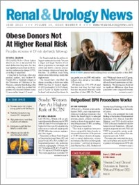 June 2011 Issue of Renal And Urology News