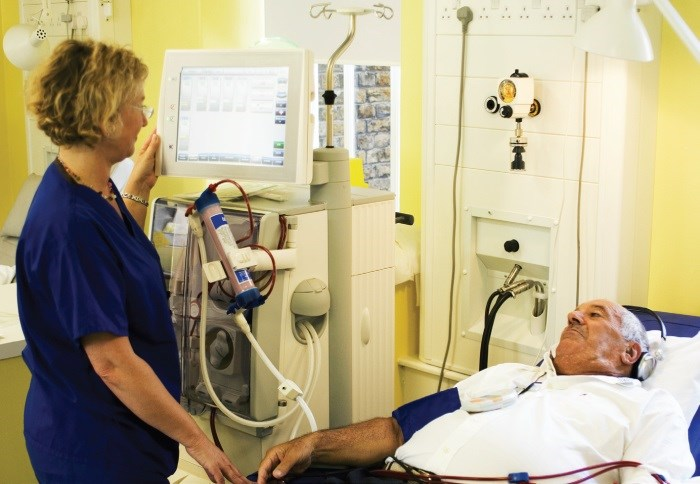 Triferic, an investigational drug, is delivered to hemodialysis patients via dialysate.