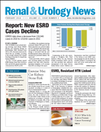 February 2014 Issue of Renal And Urology News