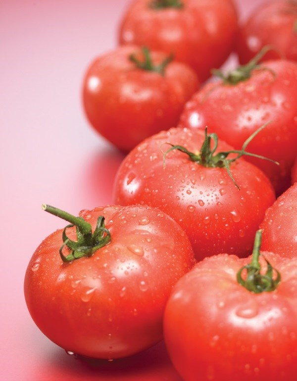 Tomatoes are a rich source of lycopene.