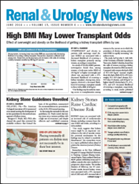 June 2014 Issue of Renal And Urology News