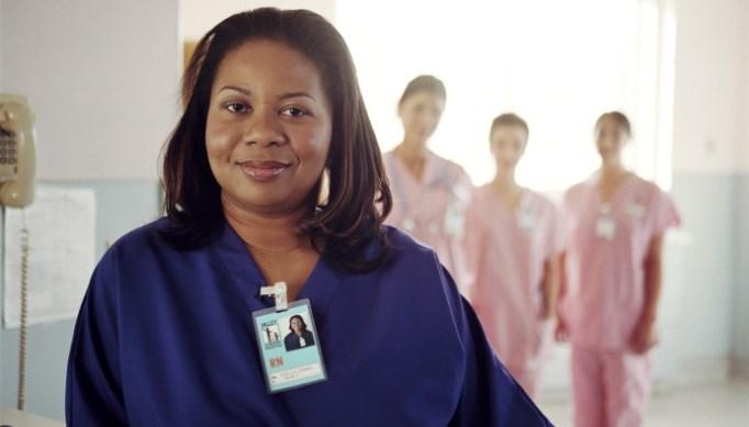 Black-African-American-woman-nurse-shift-work