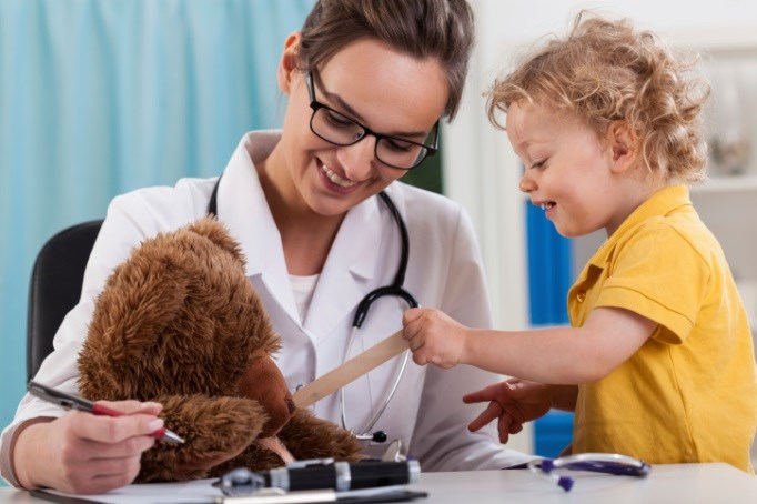 Small children are not miniature adults; they require special treatment.