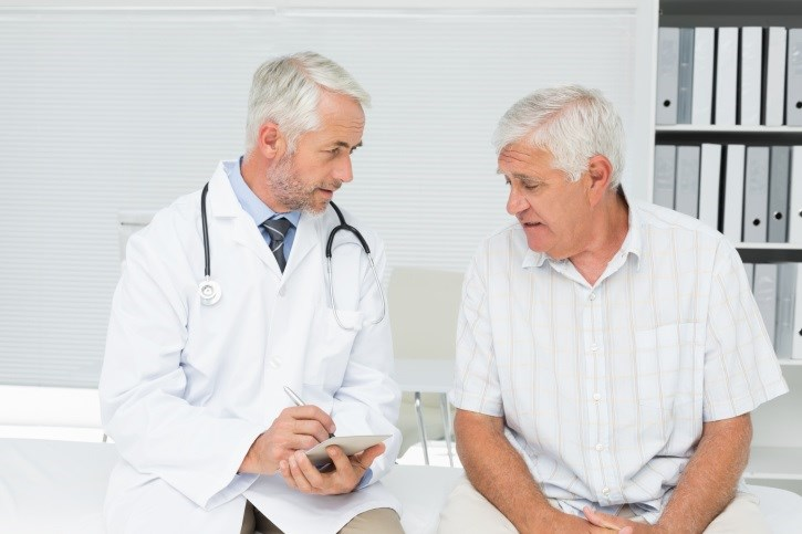 Only 10% of patients diagnosed with prostate cancer chose to delay treatment.