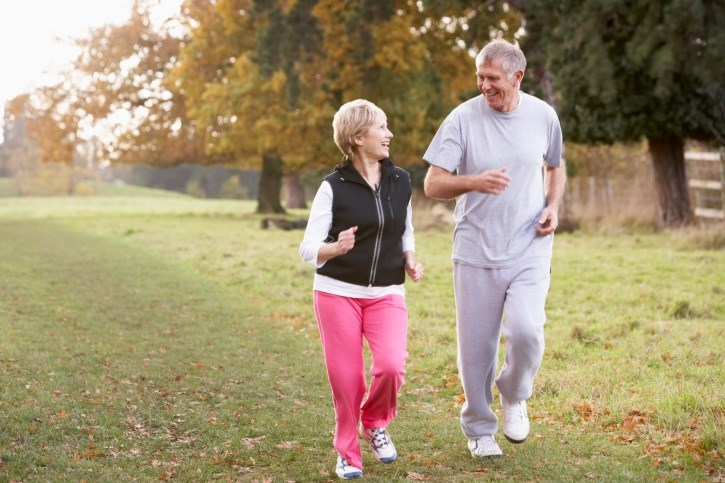 Researchers suggest 300 minutes weekly of activities such as walking or gardening.