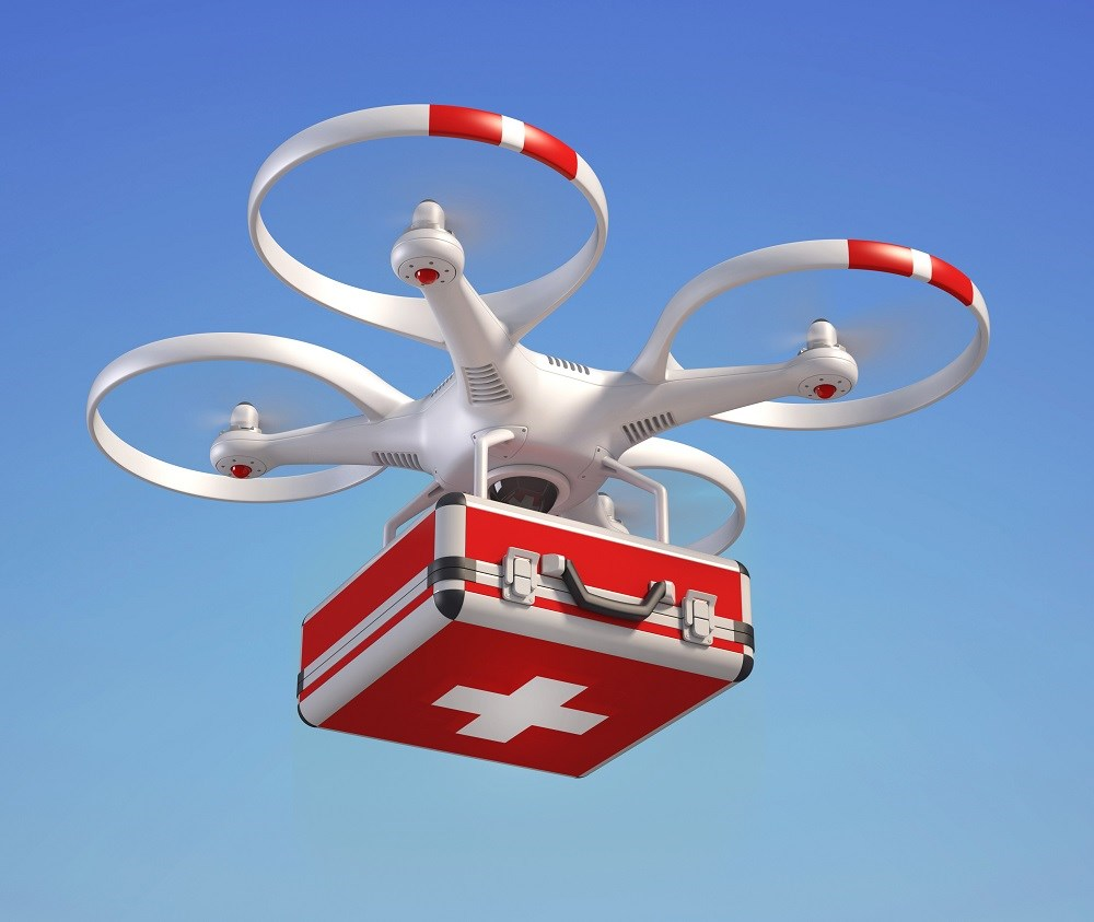 Tests showed that the blood products maintained proper temperature and cellular integrity during transport on the drone.