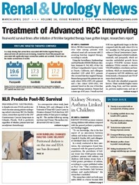 March 2017 Issue of Renal And Urology News
