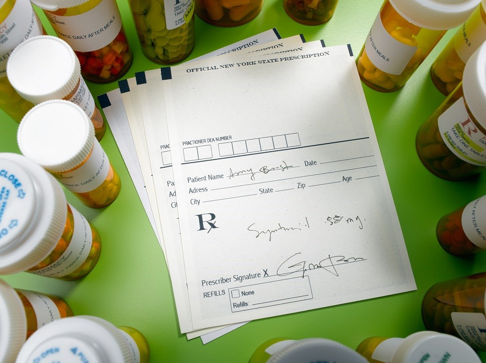 Most of the errors were made on handwritten prescriptions.