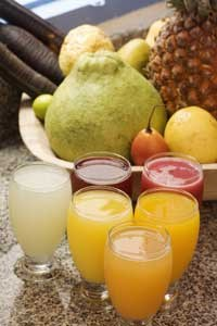 Consumption of fructose-rich foods may increase a person's risk of kidney stones.