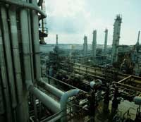 Giant oil companies are a good defensive buy in today's economic environment.