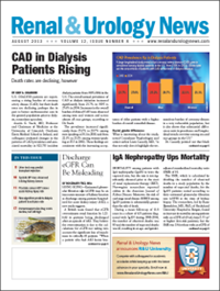 August 2013 Issue of Renal And Urology News