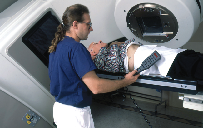 But higher doses of radiation may improve survival in men with intermediate- and high-risk prostate cancers.