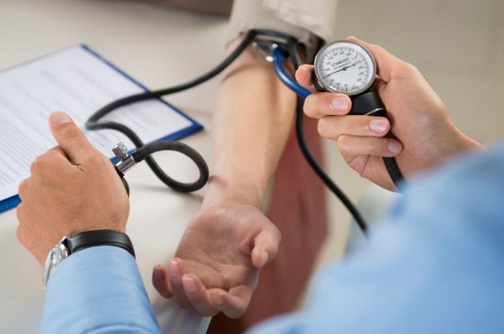 delaying the intensification of treatment by more than 1.4 months after a blood pressure rise past 150 mm Hg increased a person's risk of heart attack, stroke or early death.