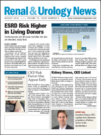 August 2014 Issue of Renal And Urology News