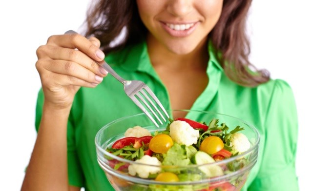 Eating protein, vegetables, and fat before carbohydrates might help diabetes control.