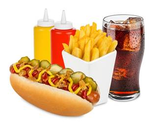 Consumption Of Unhealthy Fare Such As Processed Meats And Sugar Sweetened Drinks Increased