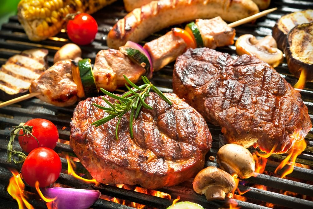 Using open flames or high temps to cook red meat, chicken both linked to higher risk of T2DM